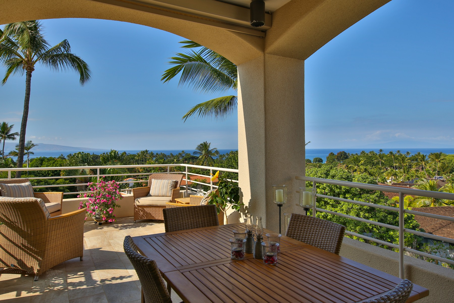 Кондоминиум для того Продажа на Intriguing Ocean & Sunset Views All-Year-round 3150 Wailea Alanui Drive, Wailea Palms 3504 Wailea, Гавайи 96753 Соединенные Штаты