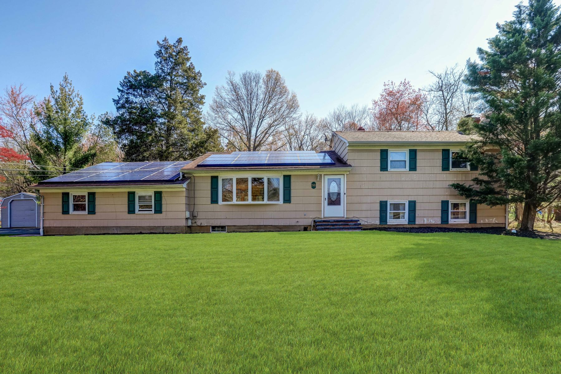 Single Family Homes for Sale at Spacious and Bright 16 Crestwood Drive Bridgewater, New Jersey 08807 United States