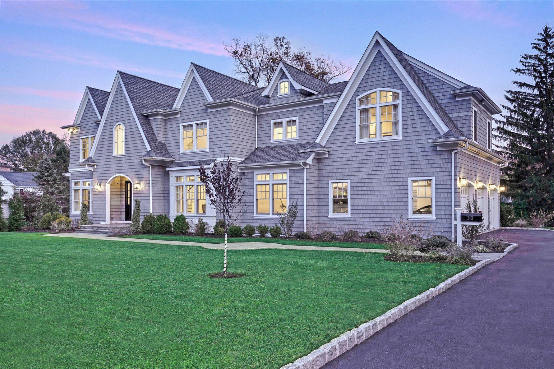 Single Family Homes voor Verkoop op Designer Masterpiece 30 Jefferson Avenue, Short Hills, New Jersey 07078 Verenigde Staten