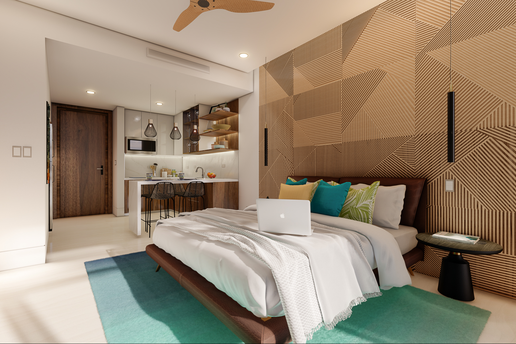 Apartments por un Venta en Island Tower - 704, E - Jaco Walk Residences Jaco, Puntarenas Costa Rica