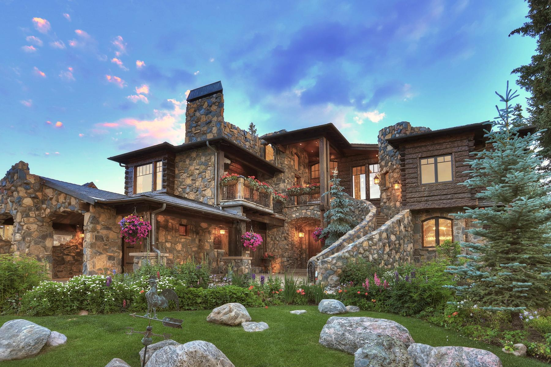 Single Family Home for Active at Castle on The Blue 165 River Park Drive Breckenridge, Colorado 80424 United States