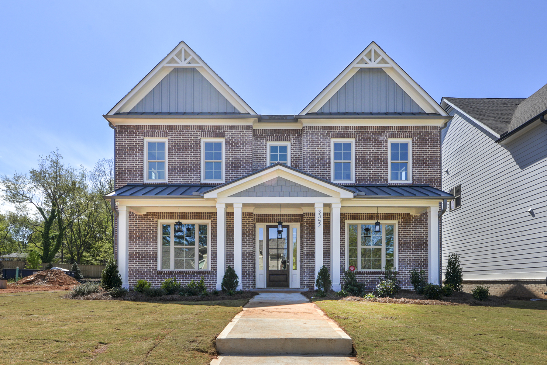 Single Family Homes for Sale at New Construction in Smyrna with Master on the Main 3352 Old Concord Road Smyrna, Georgia 30082 United States
