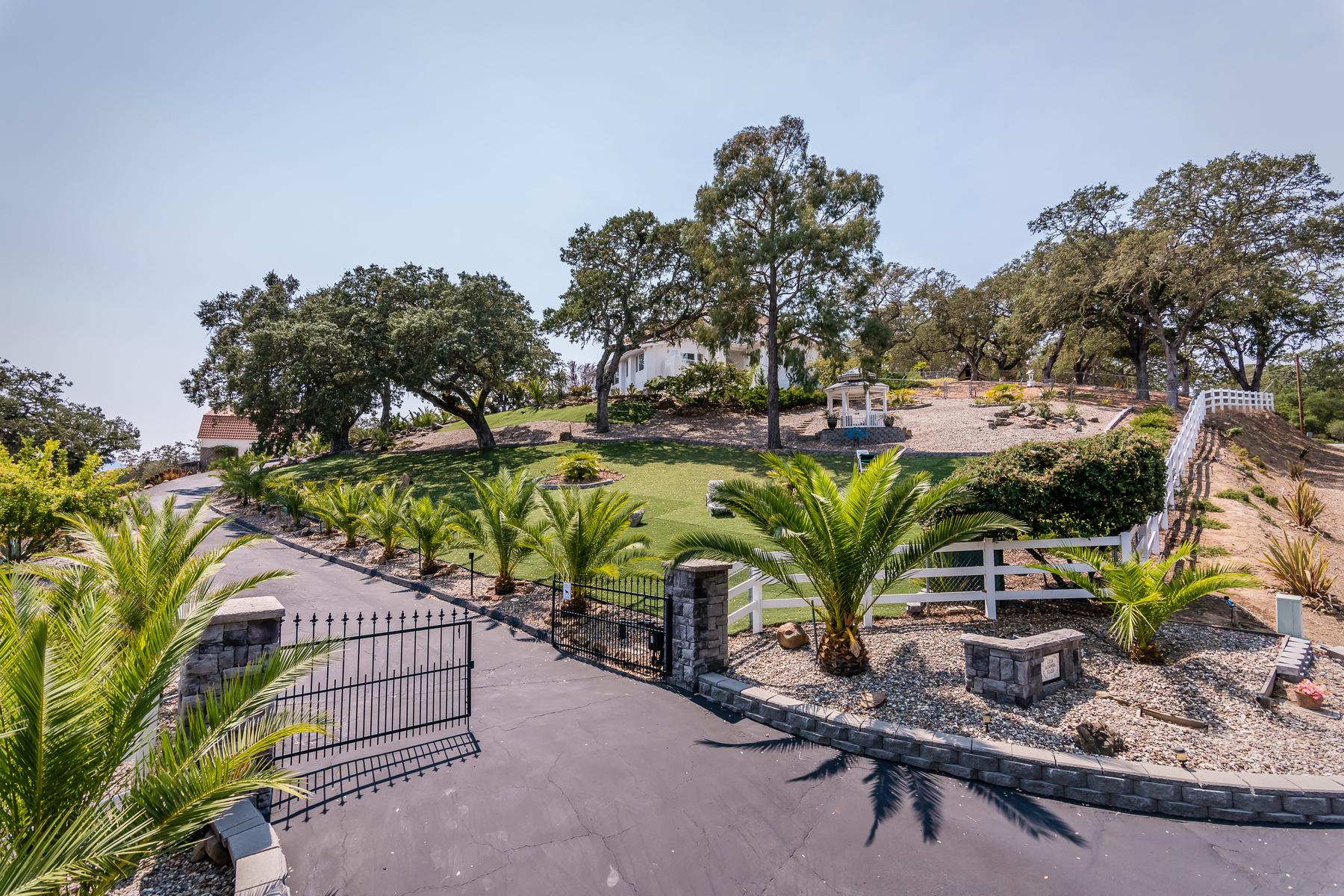 一戸建て のために 売買 アット CASA ALTAMIRA ESTATE 10455 San Marcos Road Atascadero, カリフォルニア 93422 アメリカ合衆国