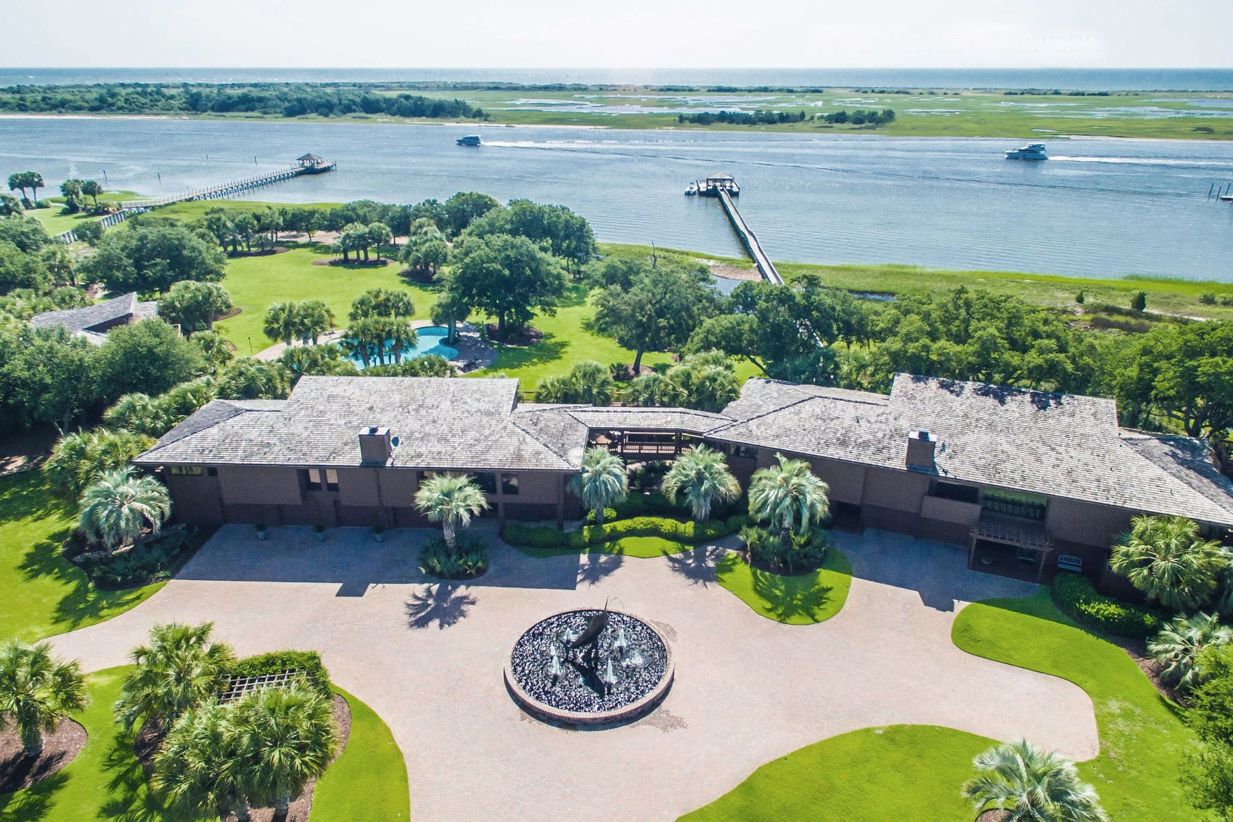 Single Family Home for Sale at The Sea Lilly - An Extraordinarily Private Estate 7422 Sea Lilly Lane, Wilmington, North Carolina 28409 United States