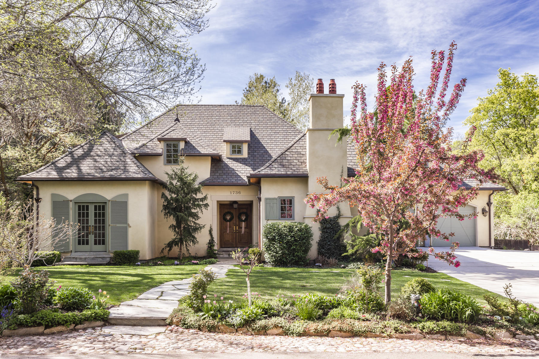 Single Family Homes for Sale at Traditional English Style Two-Story 1736 E Millcreek Way Salt Lake City, Utah 84106 United States