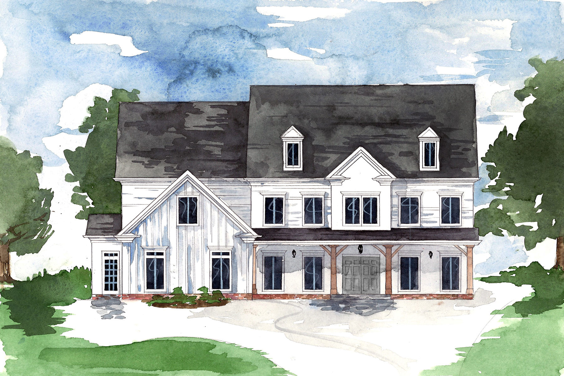 Single Family Home for Sale at Coming Soon - A Fabulous New Build on Prominent Equestrian Wood Road 1730 Highgrove Club Drive Milton, Georgia 30004 United States