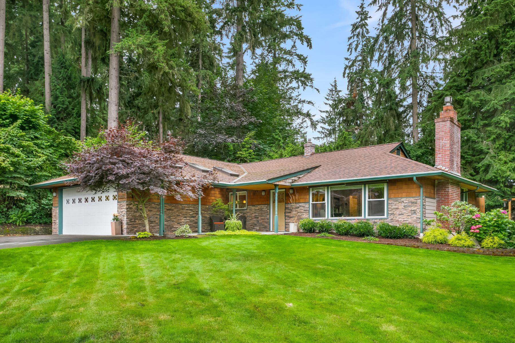 Single Family Homes for Sale at Lake Leota Farms 18205 167th Ave NE Woodinville, Washington 98072 United States