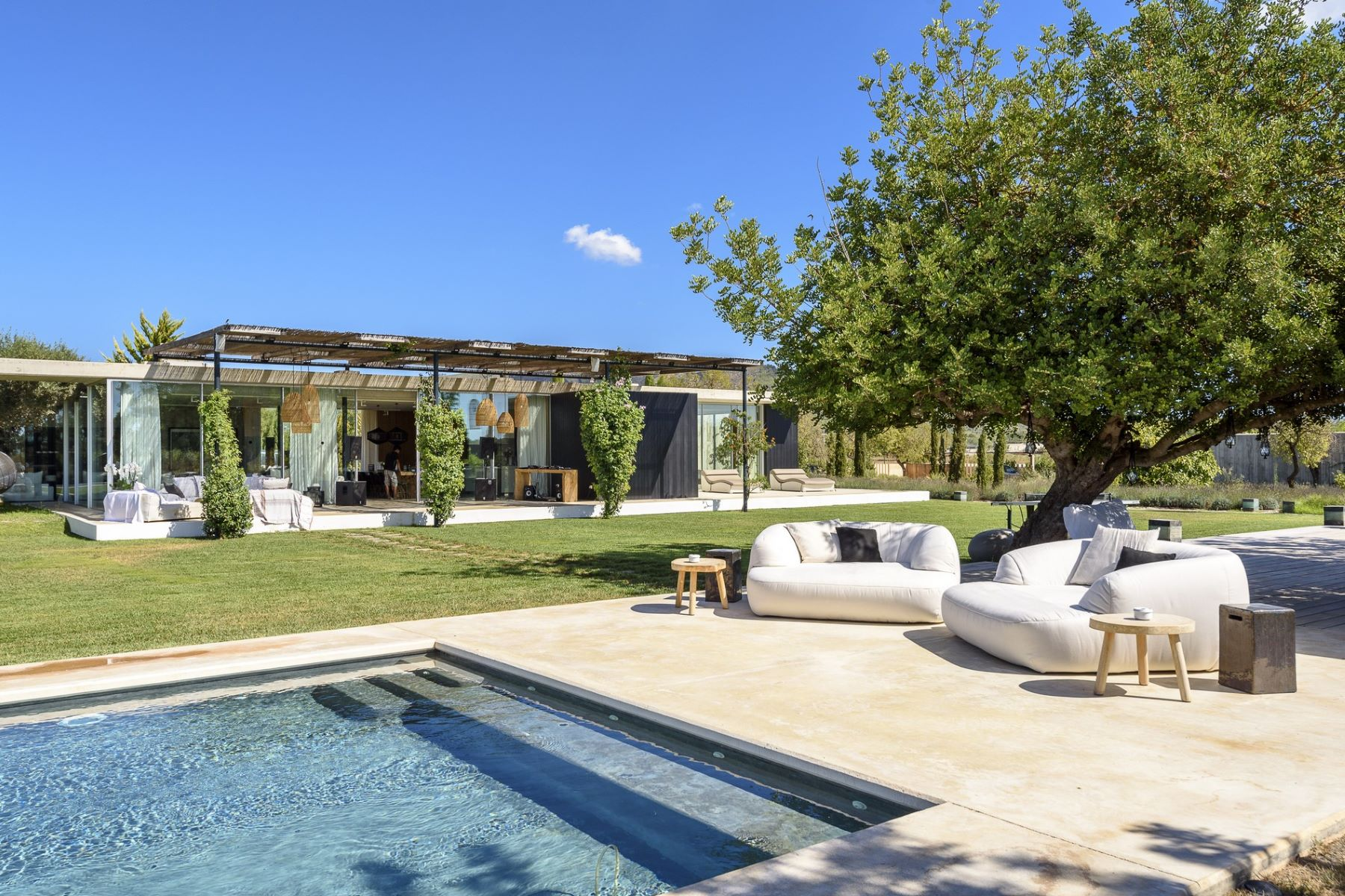 Single Family Home for Rent at Modern Design Villa in Ibiza San Juan, Ibiza, 07812 Spain
