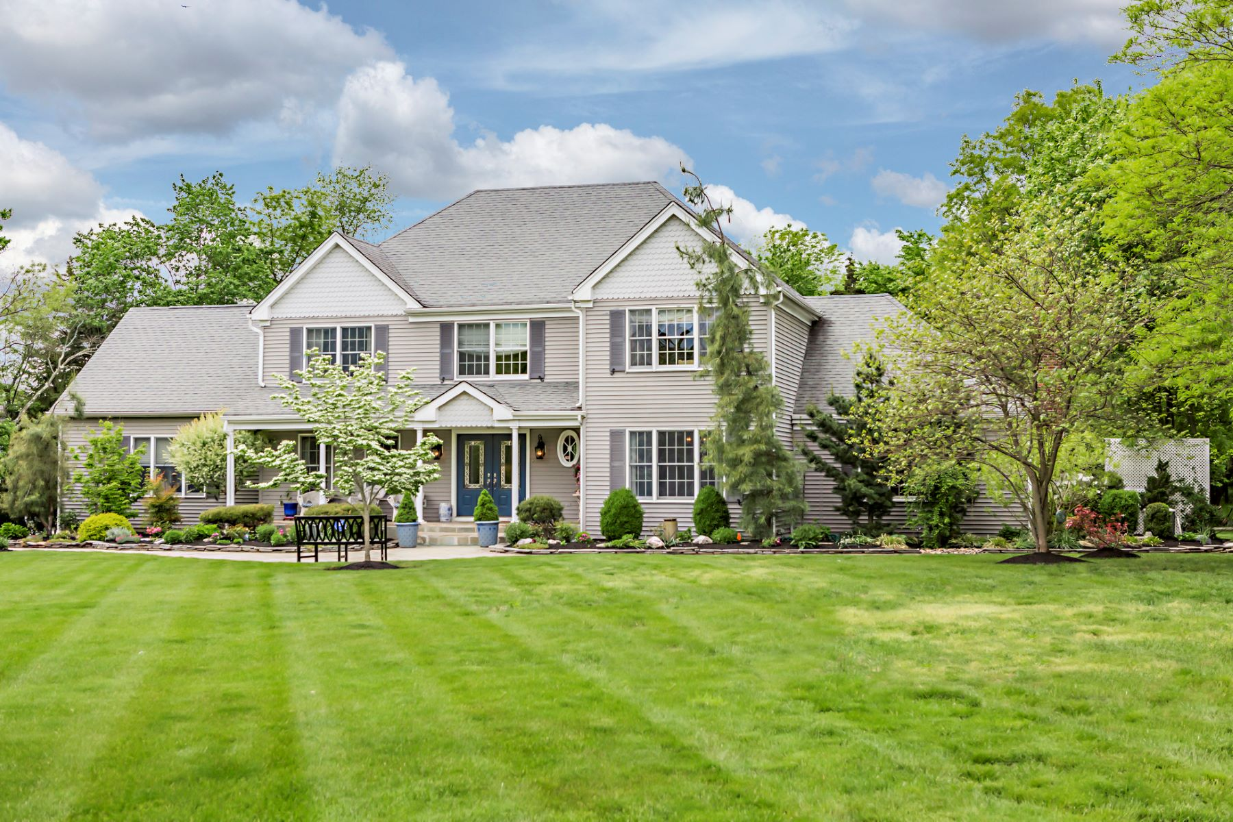 Single Family Home for Sale at What Dreams Are Made Of - Montgomery Township 30 Summit Road Belle Mead, New Jersey 08502 United States