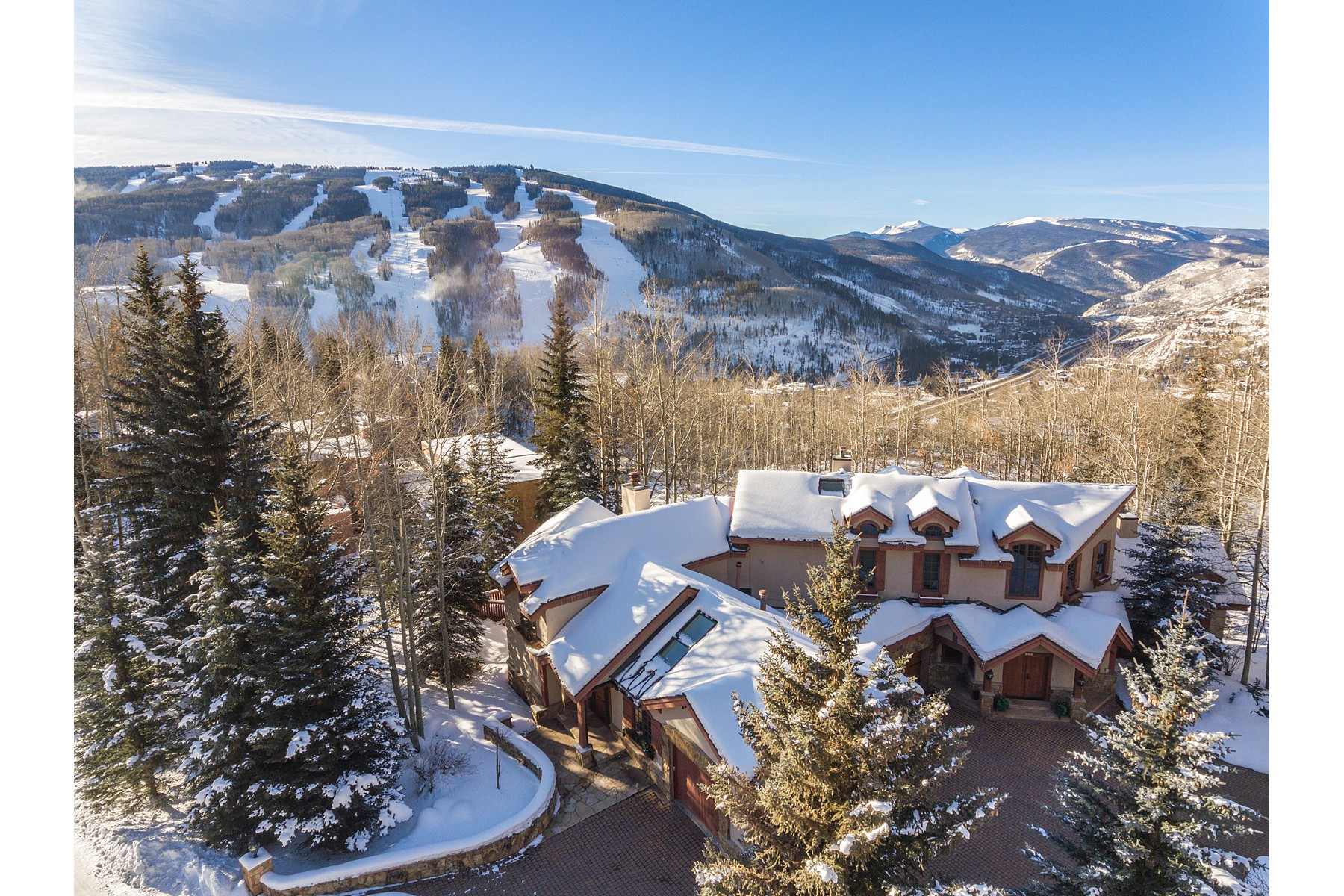 Additional photo for property listing at An Alpine Oasis with Vail Mountain Views 781 Potato Patch Dr Vail, Colorado 81657 United States