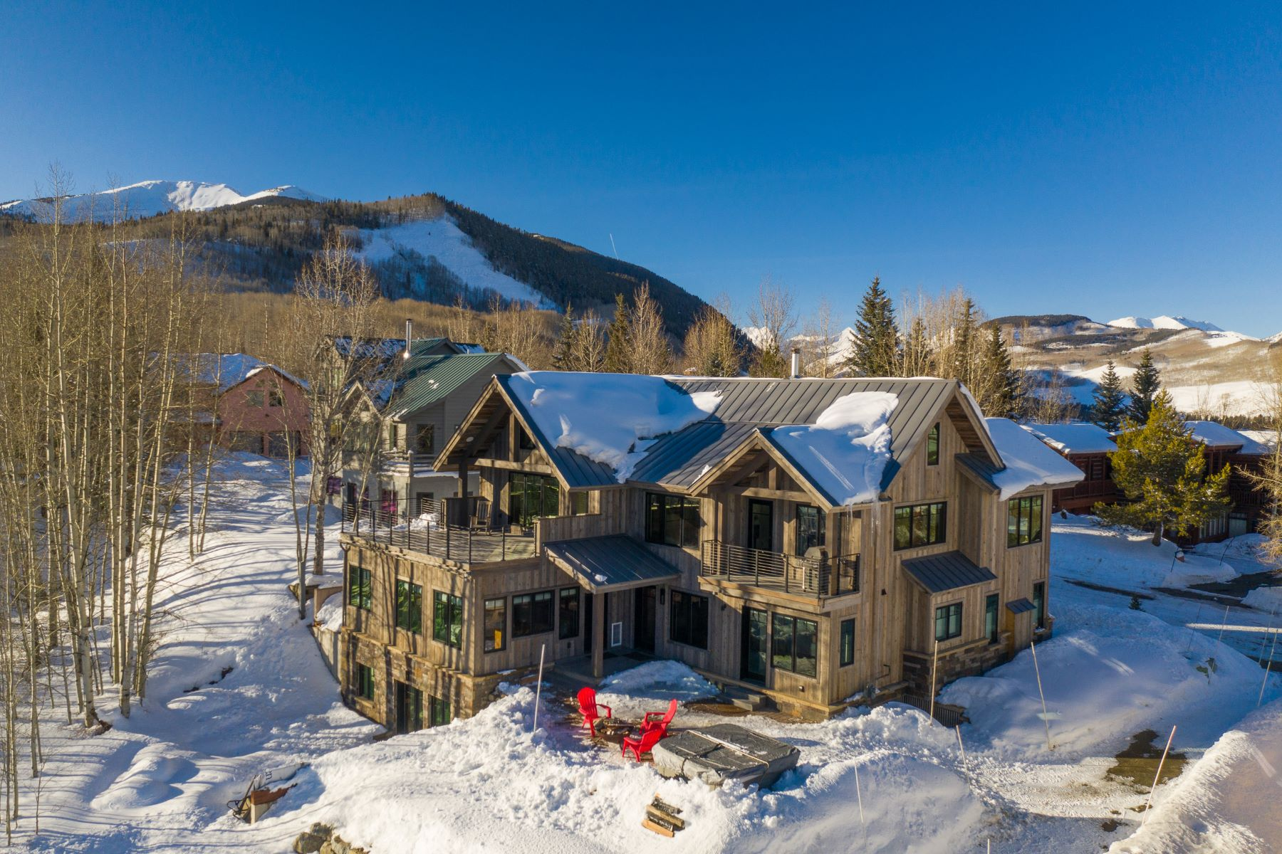 Single Family Homes のために 売買 アット 6 Treasury Hill Road, Crested Butte, コロラド 81224 アメリカ