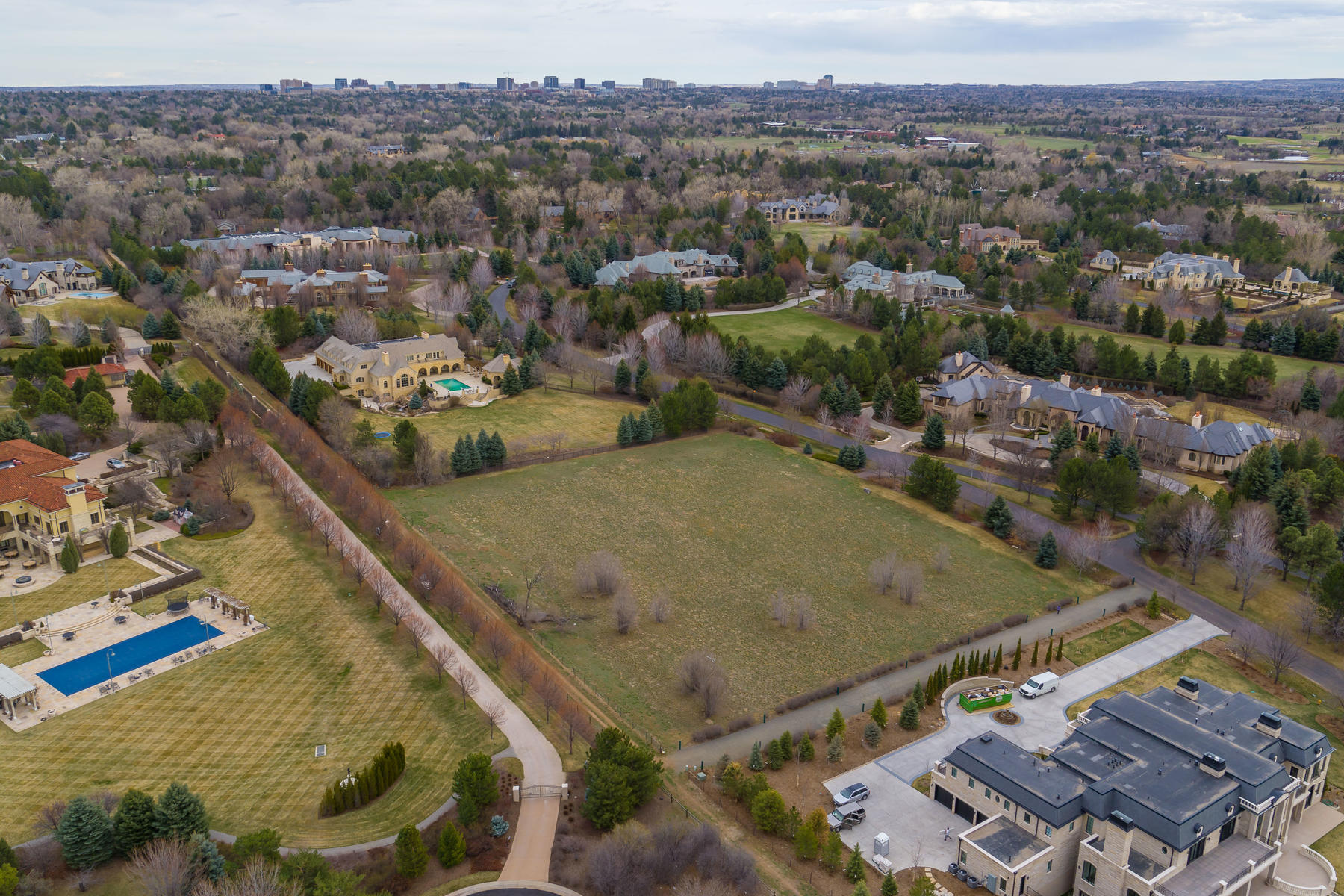 Land for Active at Fantastic 2.53 Acre Site in Cherry Hills Park Drive 5 Cherry Hills Park Drive Cherry Hills Village, Colorado 80113 United States