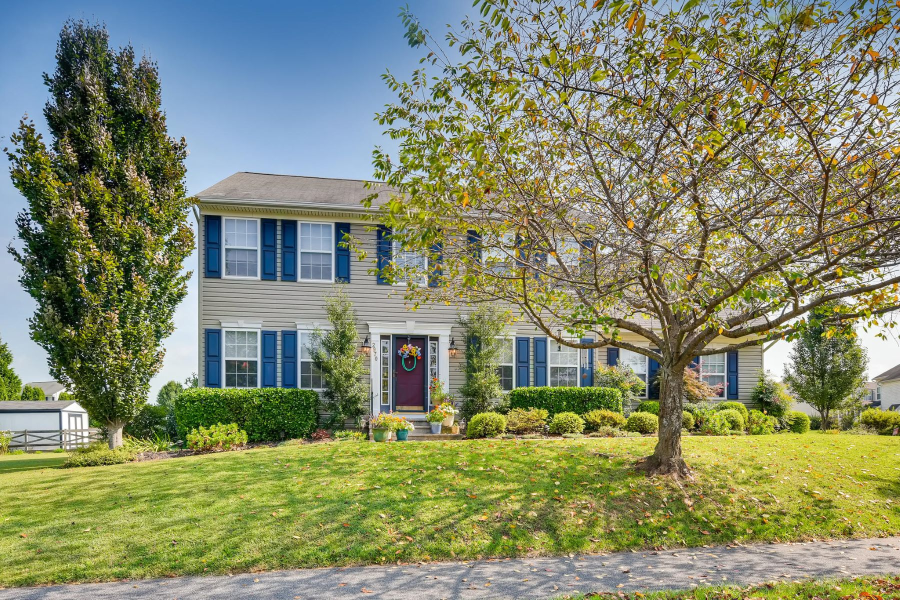Single Family Homes for Sale at Meticulously Maintained Colonial 2970 Lodi Drive Manchester, Maryland 21102 United States