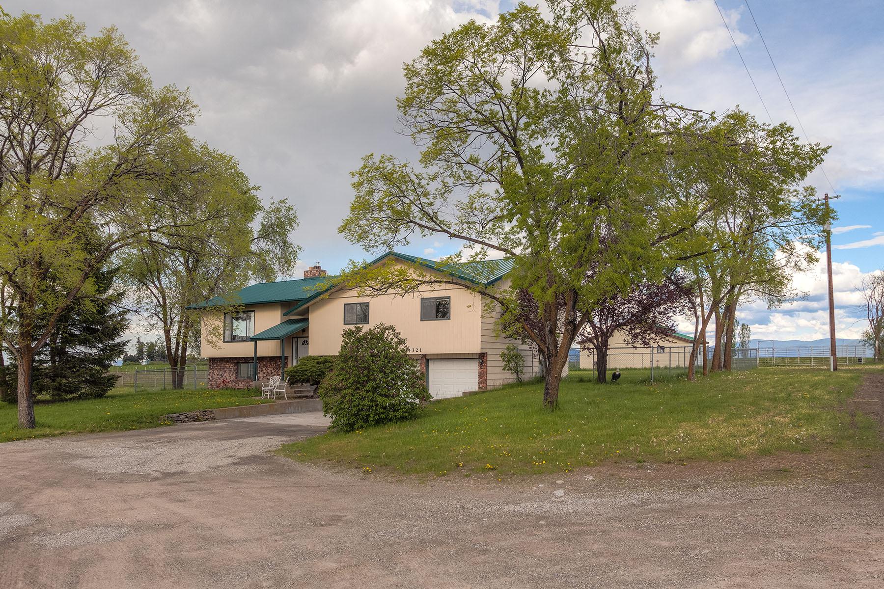 Maison unifamiliale pour l Vente à 2786sqft home with big prairie views 4321 E Hope Ave Post Falls, Idaho, 83854 États-Unis