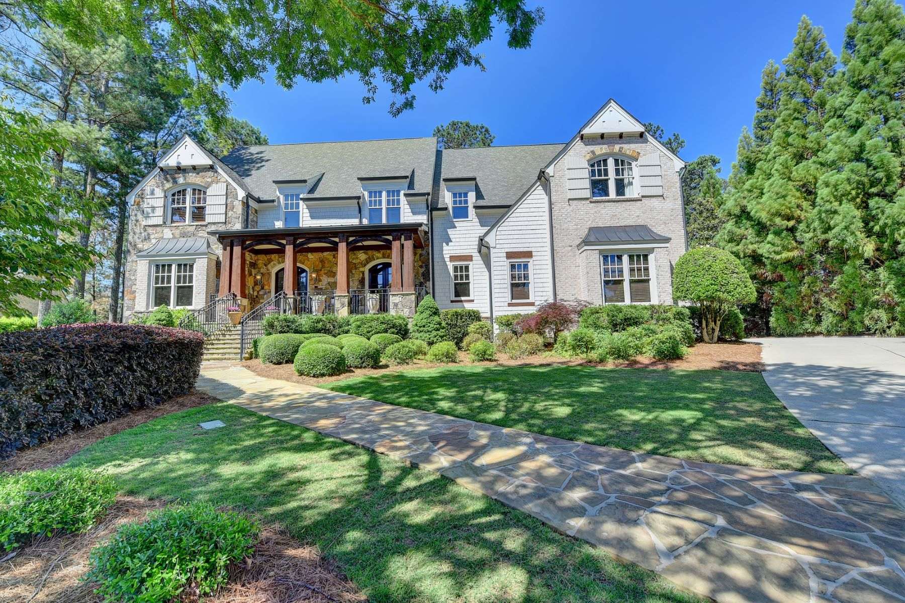 Single Family Homes for Sale at Stunning Craftsman Style Home In River Club 908 Middle Fork Trail Suwanee, Georgia 30024 United States