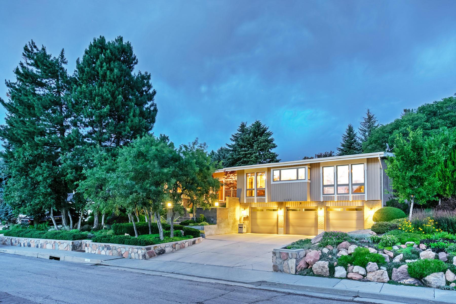 独户住宅 为 销售 在 1127 Oak Hills Way 盐湖城市, 犹他州, 84108 美国