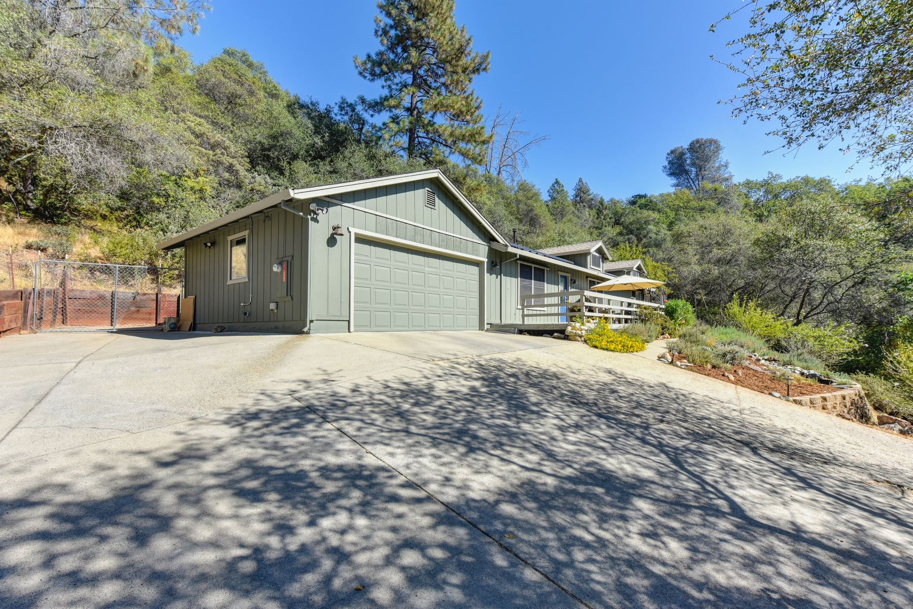 Single Family Home for Active at Great 1 Story Home Situated on a Very Private Acre Lot with Tesla Solar System 4201 Toyon Court Shingle Springs, California 95682 United States