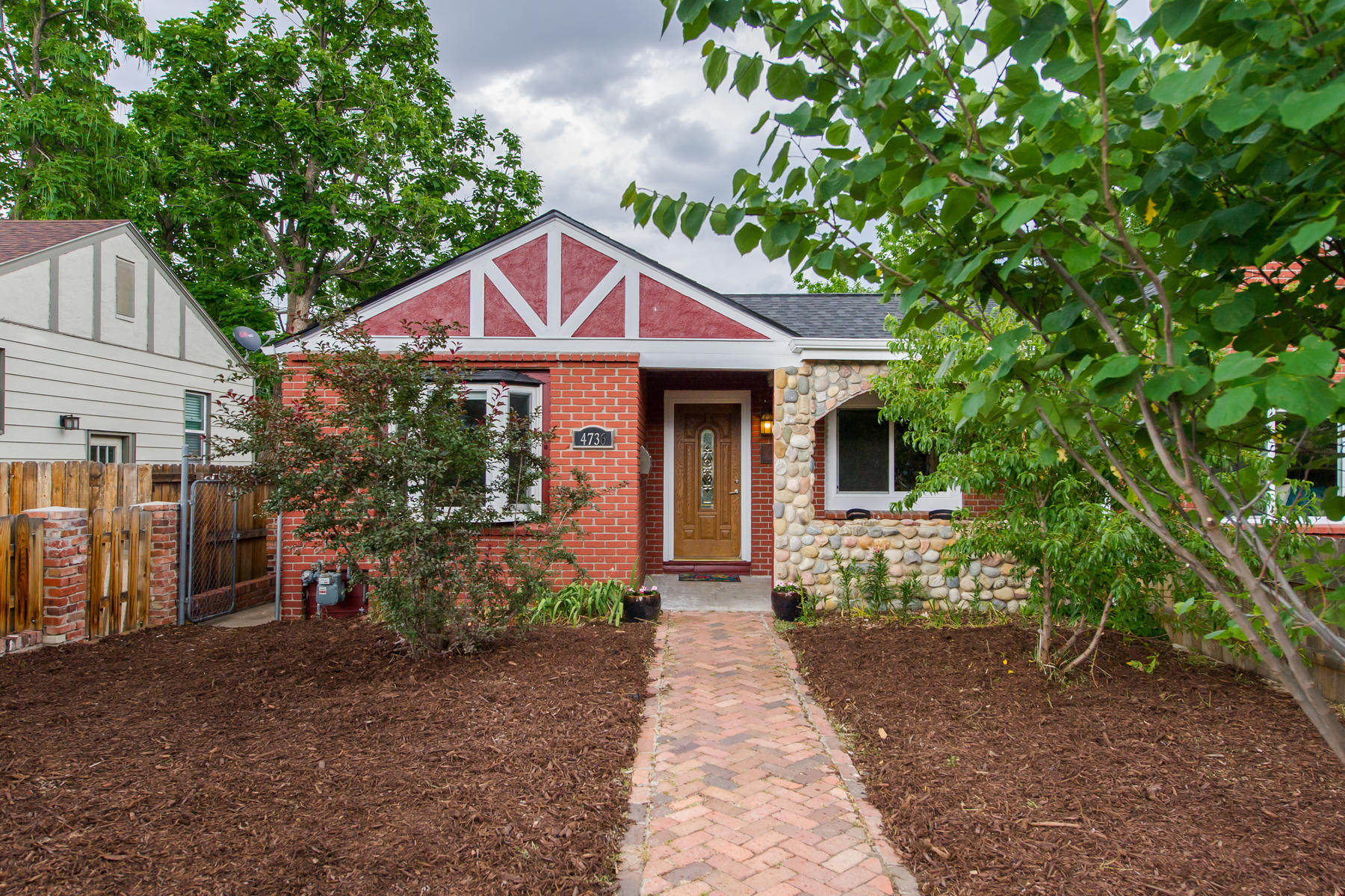 Single Family Home for Active at Live In A Remodeled, Brick Sunnyside Ranch 4736 Zuni Street Denver, Colorado 80211 United States