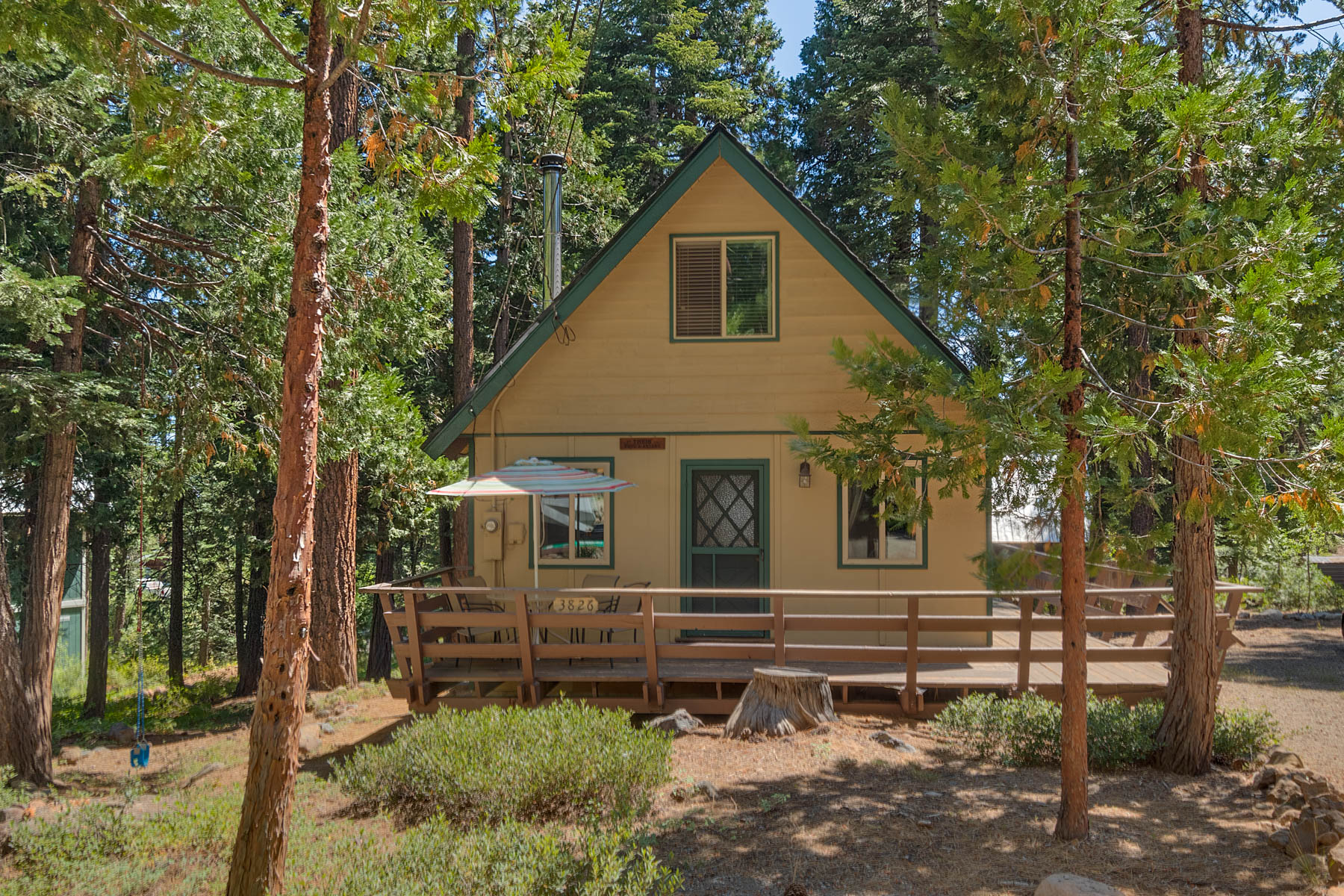 Single Family Homes for Active at Charming Carnelian Bay cabin 3826 Dinah Road Carnelian Bay, California 96140 United States