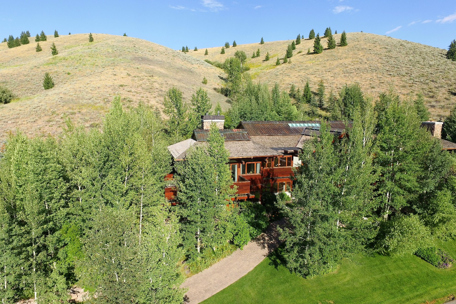 Single Family Homes for Sale at Architectural Splendor 175 Stoneridge Rd Ketchum, Idaho 83340 United States