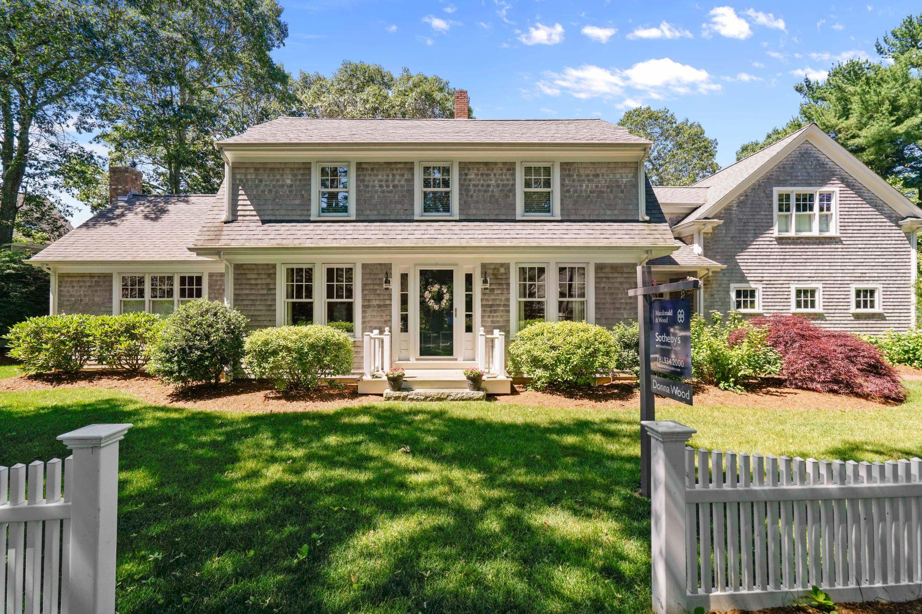 Частный односемейный дом для того Продажа на 137 Abrams Hill Road Duxbury, Массачусетс, 02332 Соединенные Штаты