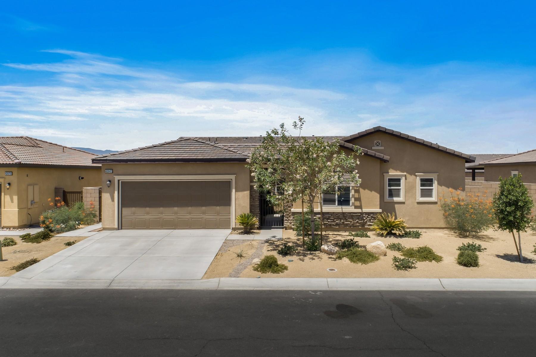 Single Family Homes for Sale at 42647 Tiempo Court 42647 Tiempo Ct Indio, California 92203 United States