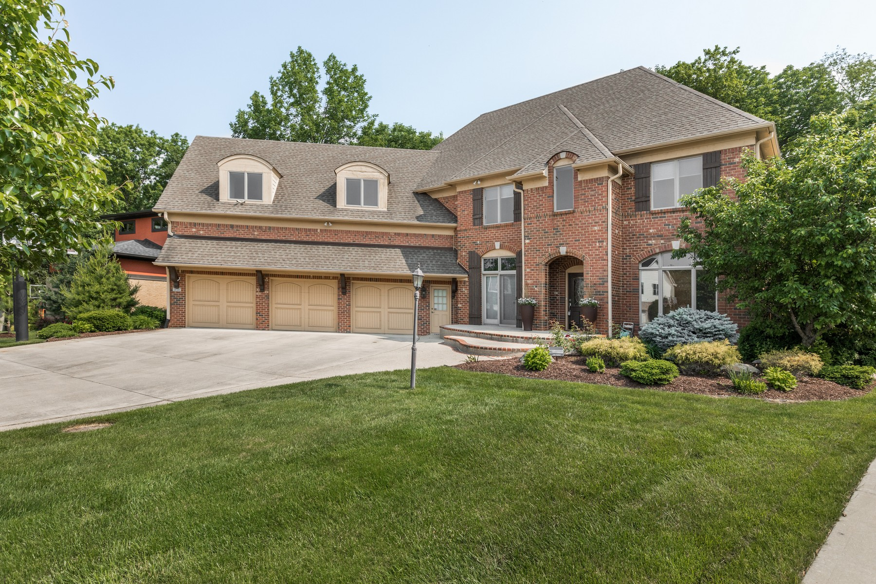 single family homes for Active at Custom Home in Brooks Manor 14724 Thor Run Drive Fishers, Indiana 46040 United States