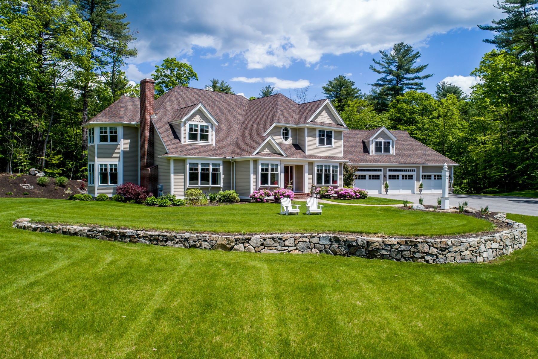 Single Family Home for Sale at Modern Living in Country Setting 7 Sagamore Lane Boxford, Massachusetts 01921 United States