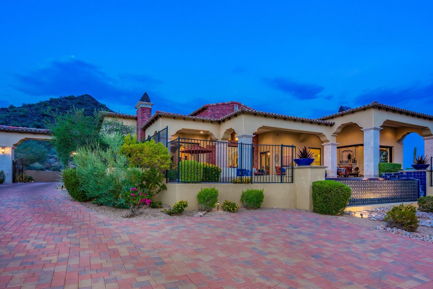 single family homes for Active at Mountain Estates At Las Sendas 3711 N Hawes Rd Mesa, Arizona 85207 United States