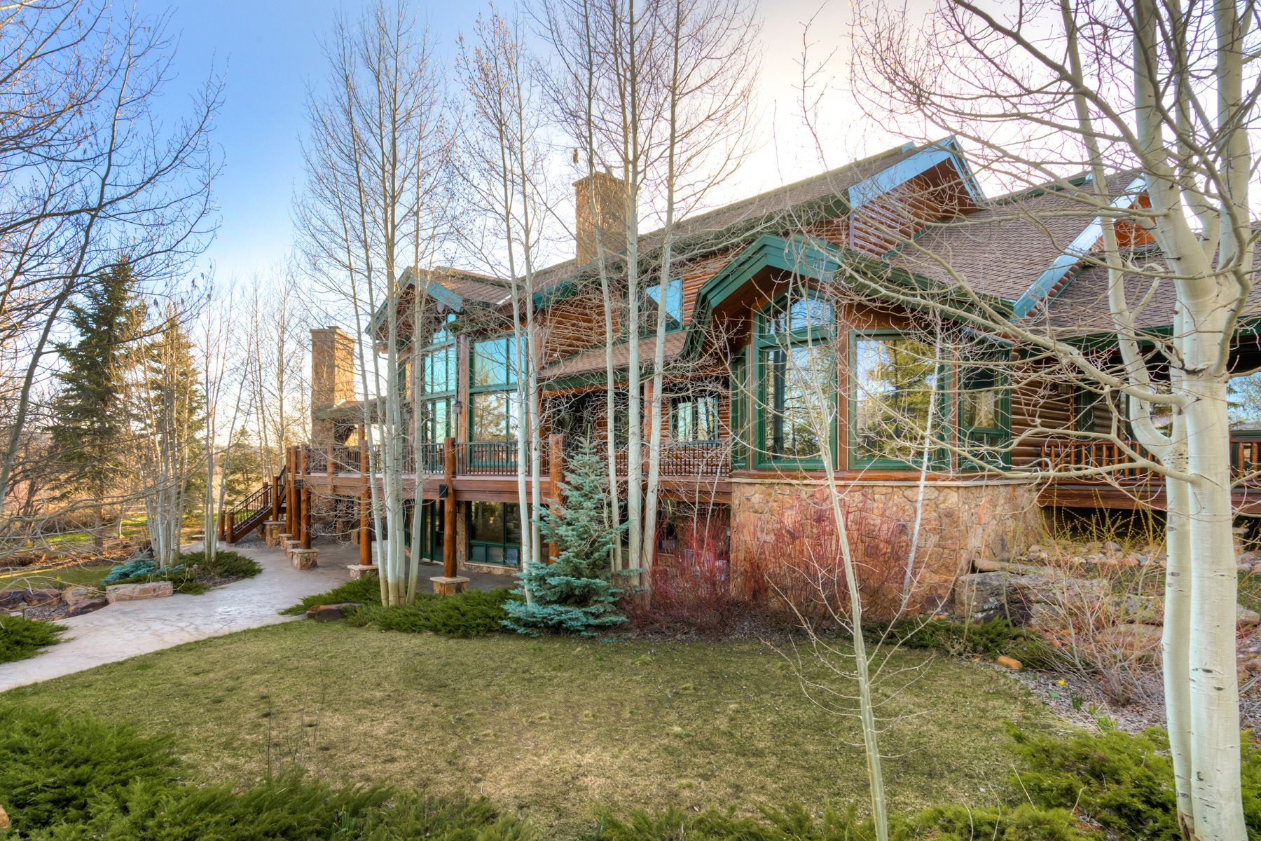 Casa Unifamiliar por un Venta en Emerald Mountain Ranch 27680 Beaver Ridge Road Steamboat Springs, Colorado, 80487 Estados Unidos
