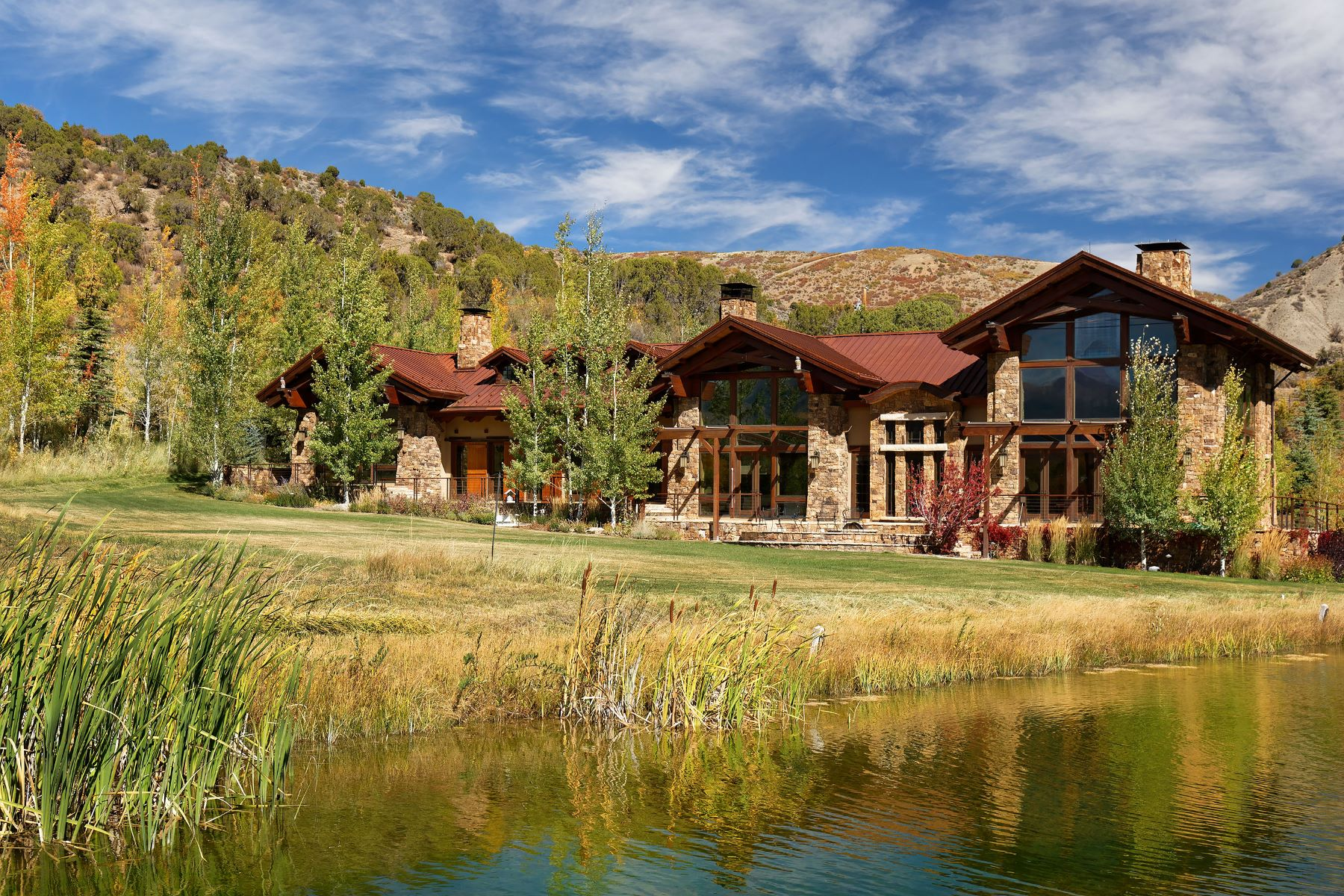 Single Family Homes por un Venta en A Timeless Work of Love 6401 E. Sopris Creek Road, Snowmass, Colorado 81654 Estados Unidos