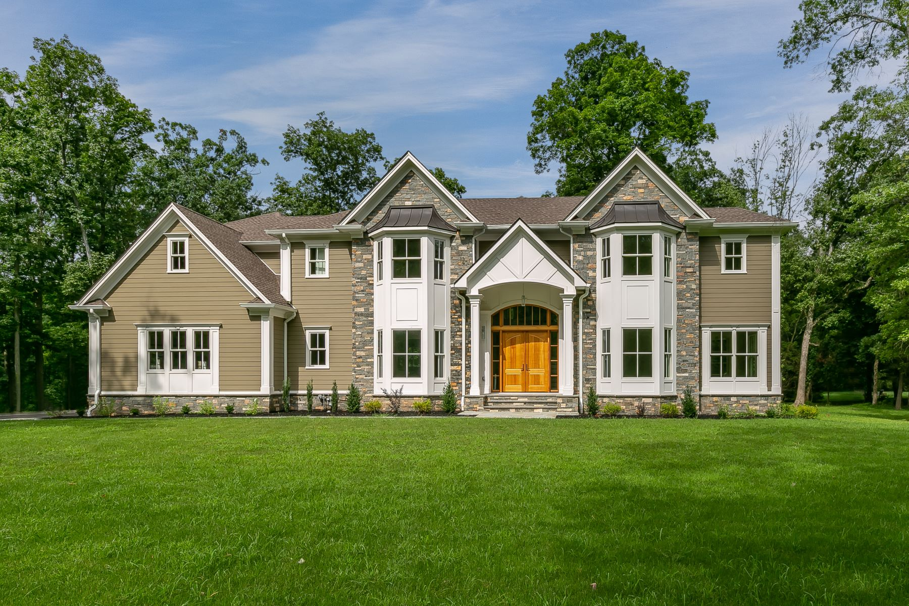 Single Family Homes for Sale at Simply Stunning 60 Annin Road Basking Ridge, New Jersey 07920 United States