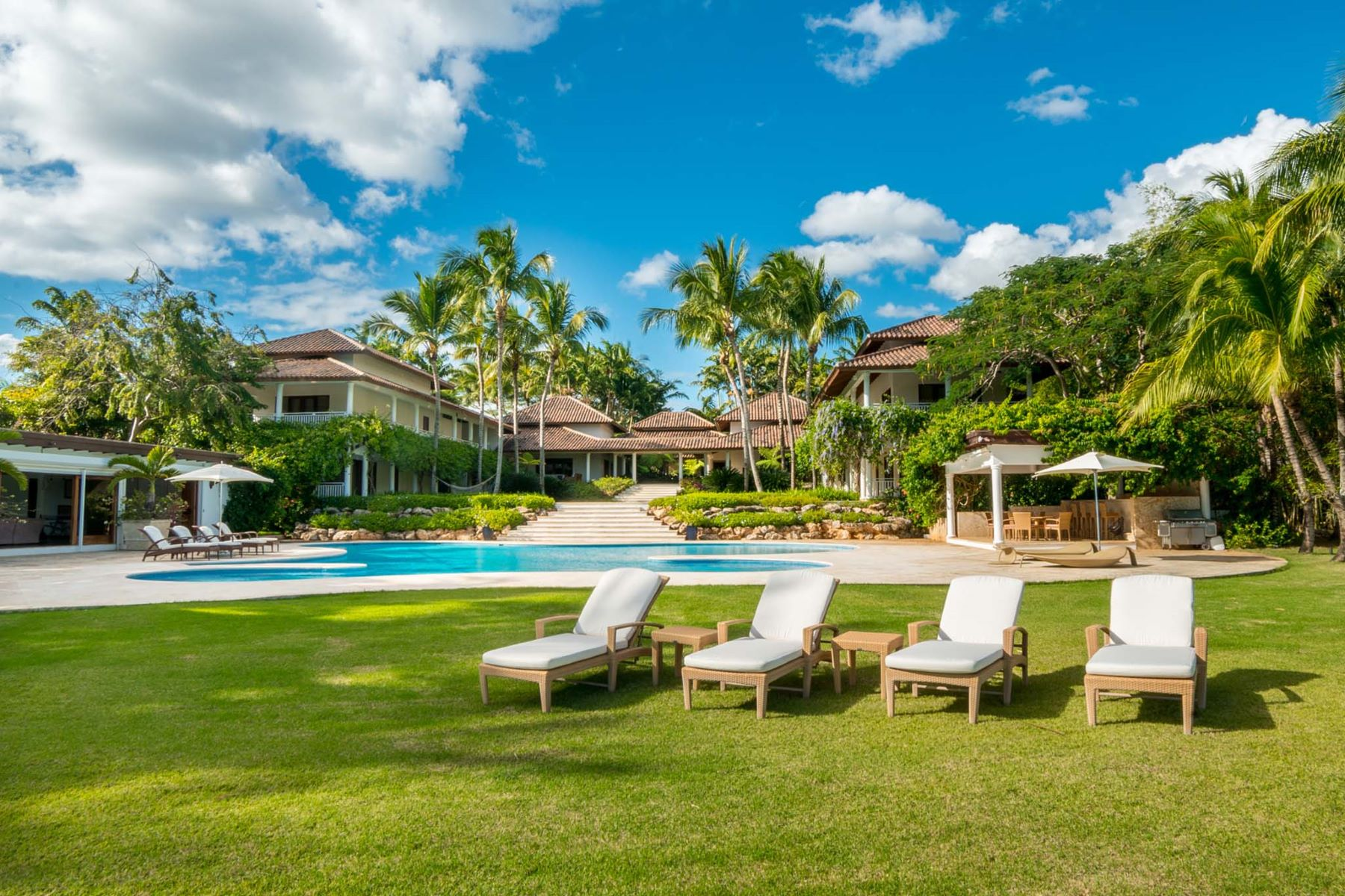 Single Family Home for Sale at Majestic Caribbean Estate boasting Extraordinary Ocean Views Casa De Campo, La Romana Dominican Republic