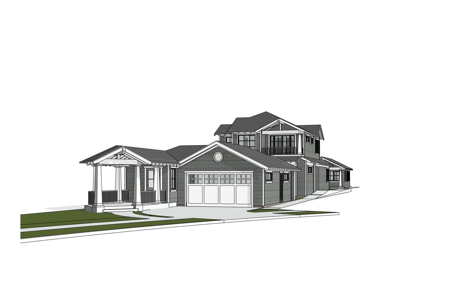 واحد منزل الأسرة للـ Sale في 1601 Miguel Avenue Coronado, California, 92118 United States