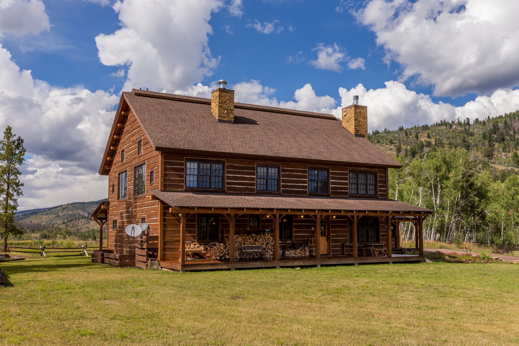 Additional photo for property listing at Hideaway Ranch 16555 CR 16 Oak Creek, Colorado 80467 United States