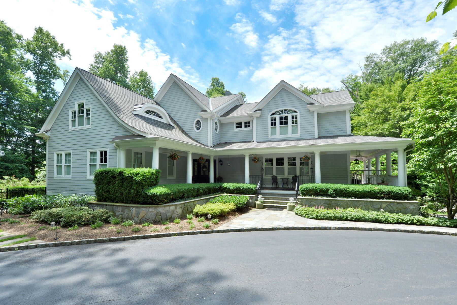 단독 가정 주택 용 매매 에 Sophisticated Country 13 Glenwood Drive Saddle River, 뉴저지, 07458 미국