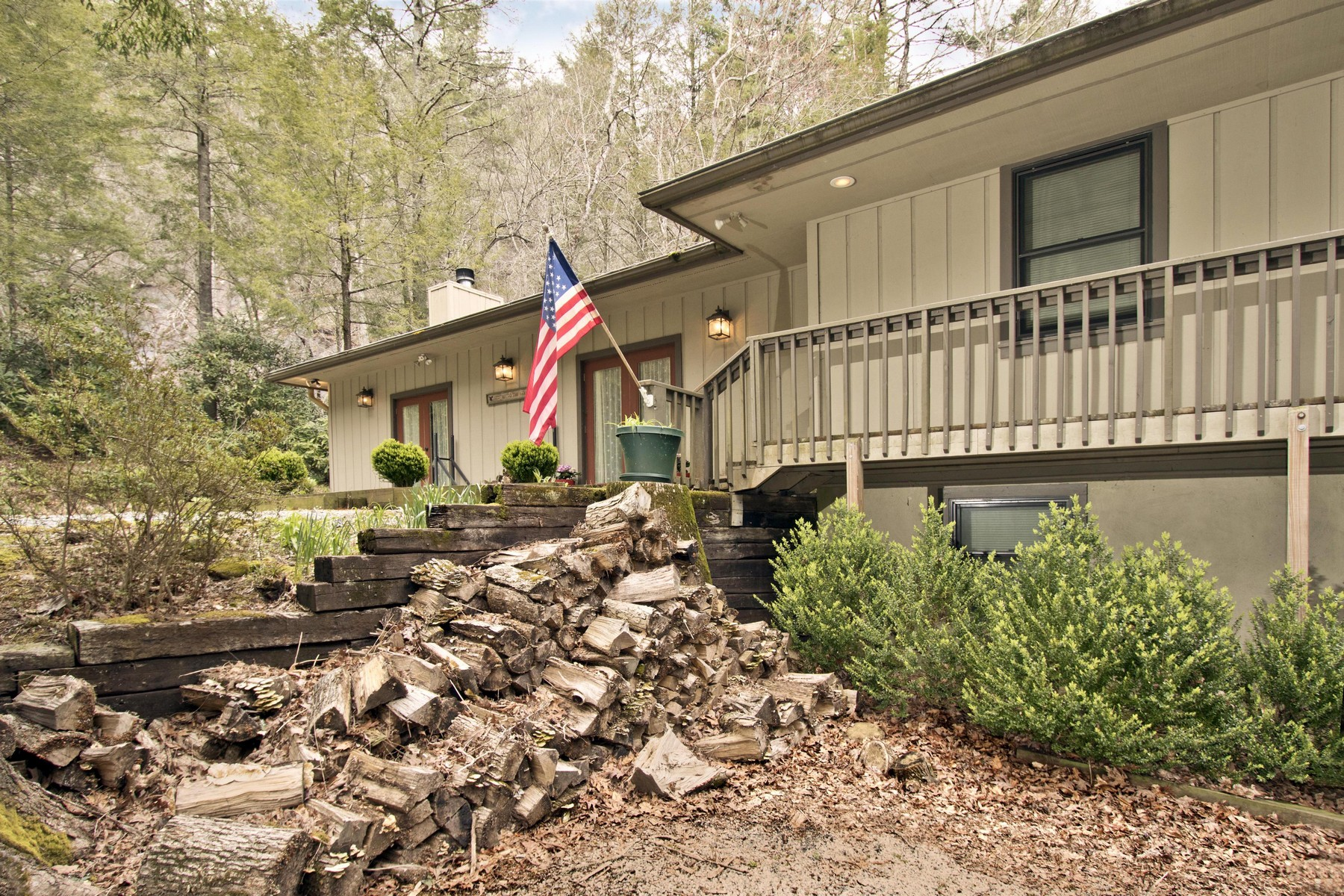 Single Family Homes for Sale at 50 Trailblazer Lane Cashiers NC 50 Trailblazer Lane Cashiers, North Carolina 28717 United States