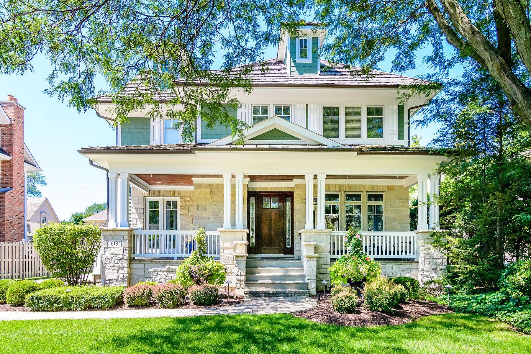 獨棟家庭住宅 為 出售 在 618 Jefferson, Hinsdale 618 Jefferson Street Hinsdale, 伊利諾斯州, 60521 美國