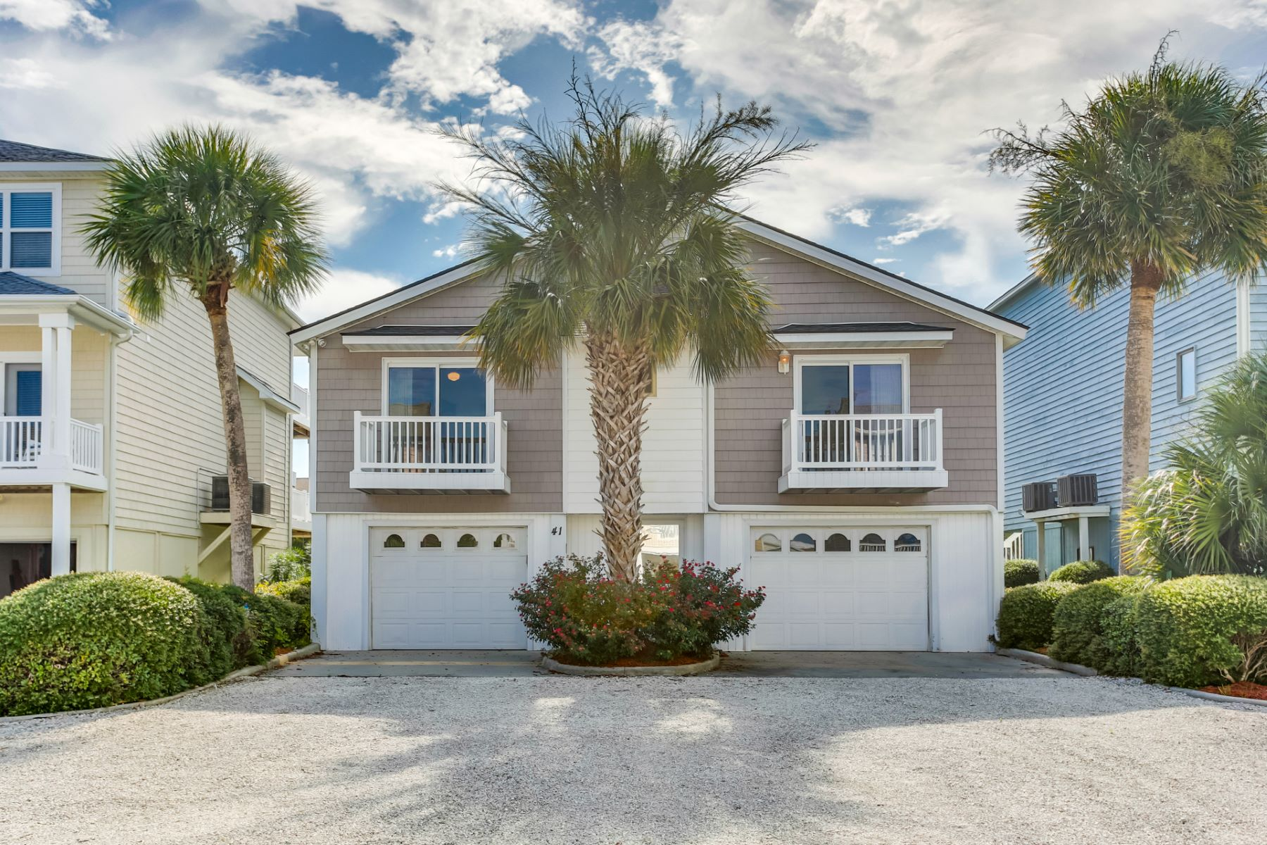 Single Family Homes for Sale at Carefree Island Living 41 Pender Street Ocean Isle Beach, North Carolina 28469 United States