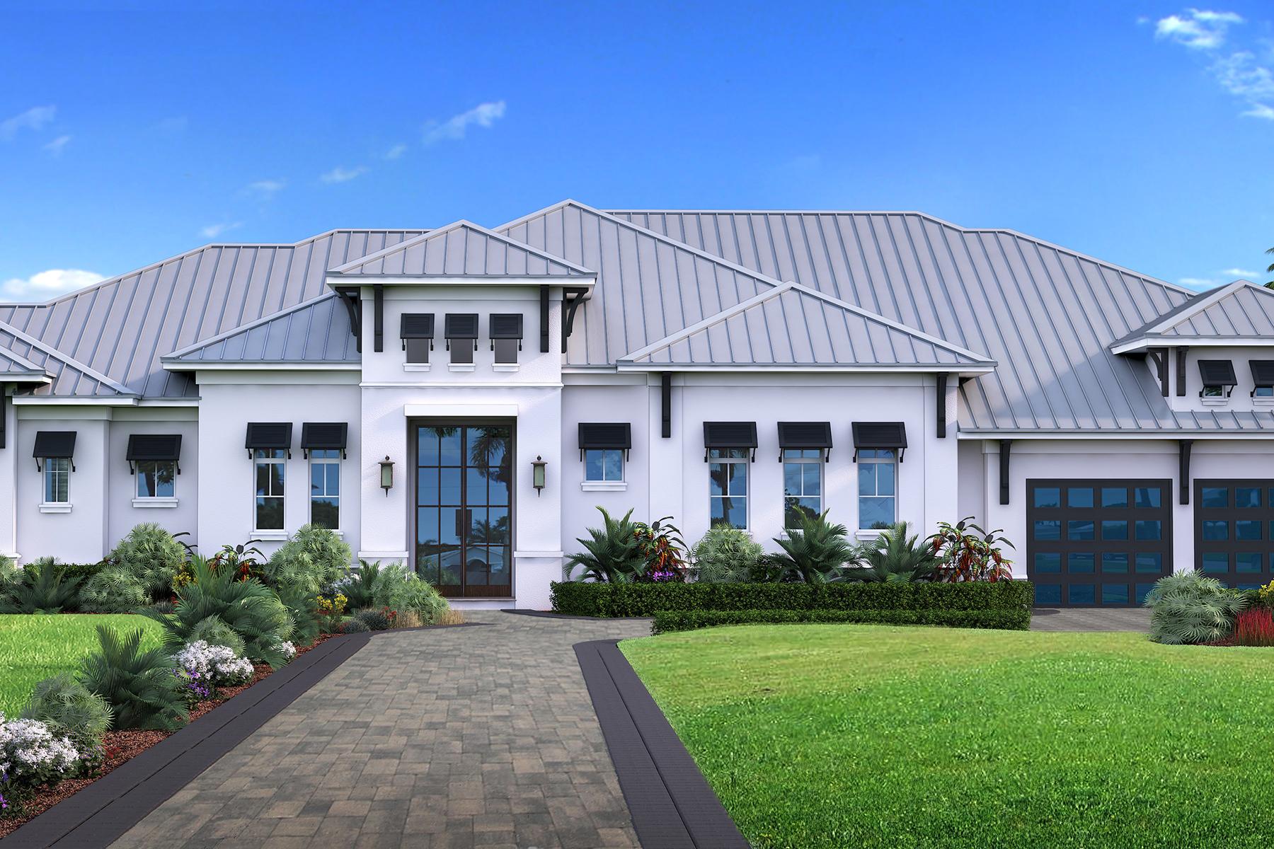 Tek Ailelik Ev için Satış at NAPLES - MOORINGS 615 Harbour Drive Napoli, Florida 34103 Amerika Birleşik Devletleri