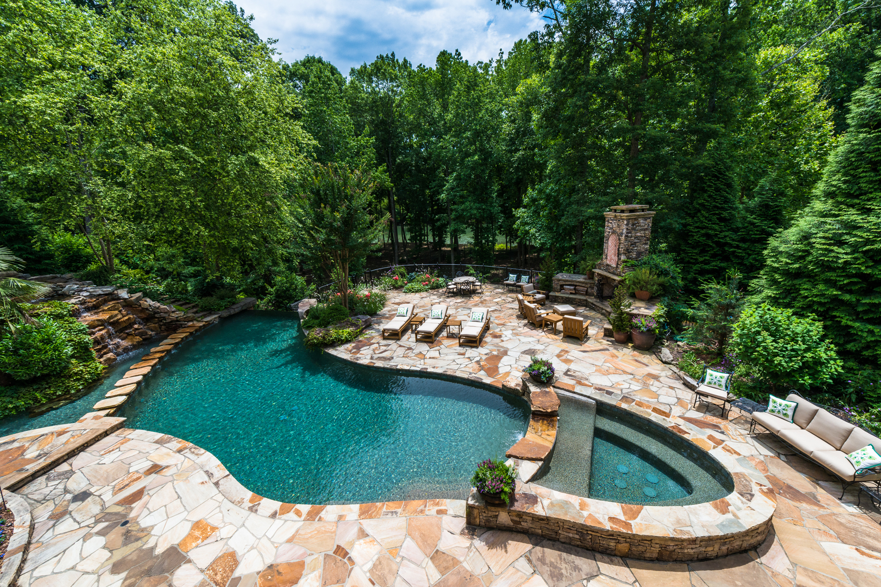 Single Family Home for Sale at A Masterpiece In Johns Creek Most Prestigious Gated Golf Community 490 Covington Cove Alpharetta, Georgia 30022 United States