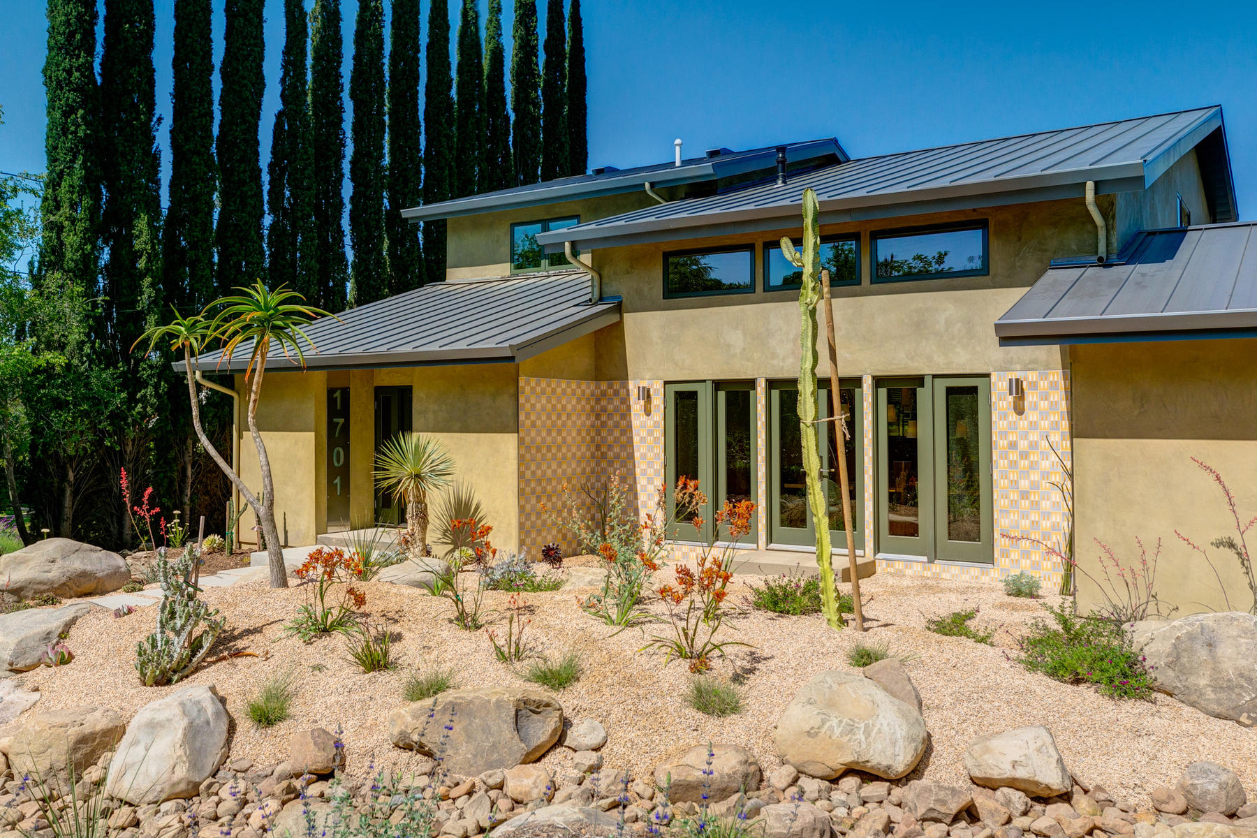 Single Family Homes for Sale at Newly remodeled and completely renovated contemporary masterpiece 1701 McNell Road Ojai, California 93023 United States