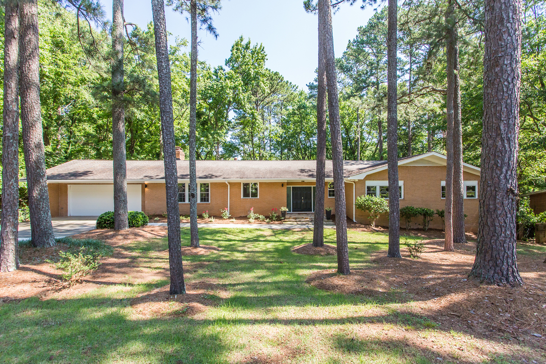 Single Family Home for Sale at Gorgeous Mid-Century Modern Brick Ranch With A Full Finished Basement! 2670 Glenvalley Dr Decatur, Georgia 30032 United States