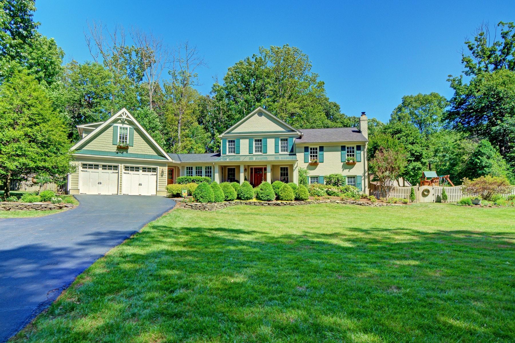 Single Family Homes for Active at Foxvale 11809 Wayland St Oakton, Virginia 22124 United States