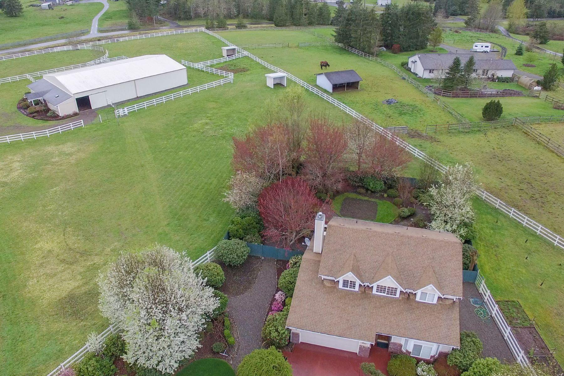 단독 가정 주택 용 매매 에 Equestrian Olympia 6932 105th Ave SW Olympia, 워싱톤, 98512 미국