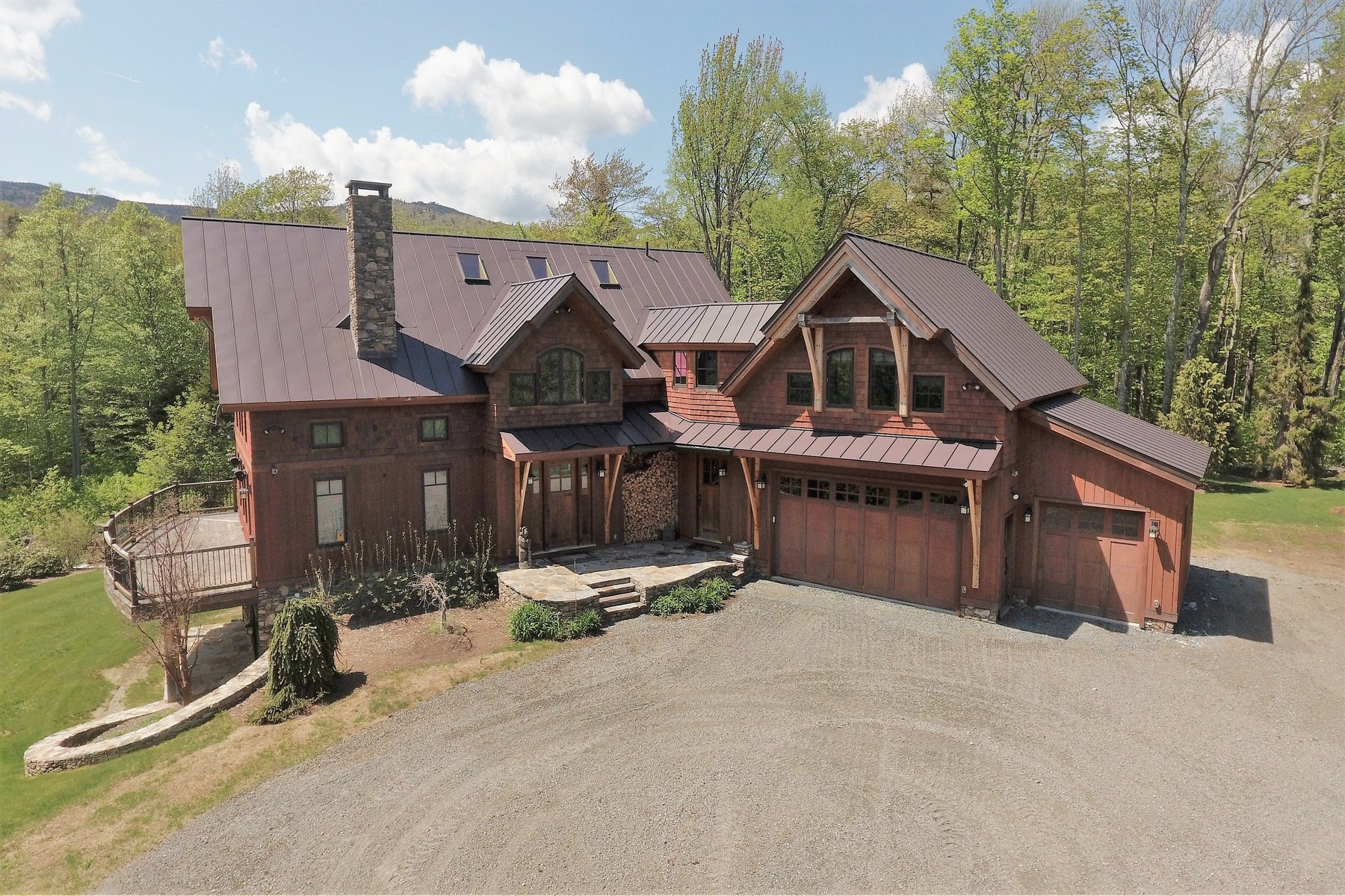 Single Family Homes for Sale at Spectacular Location, Views and Home 133 Handle Rd Dover, Vermont 05356 United States