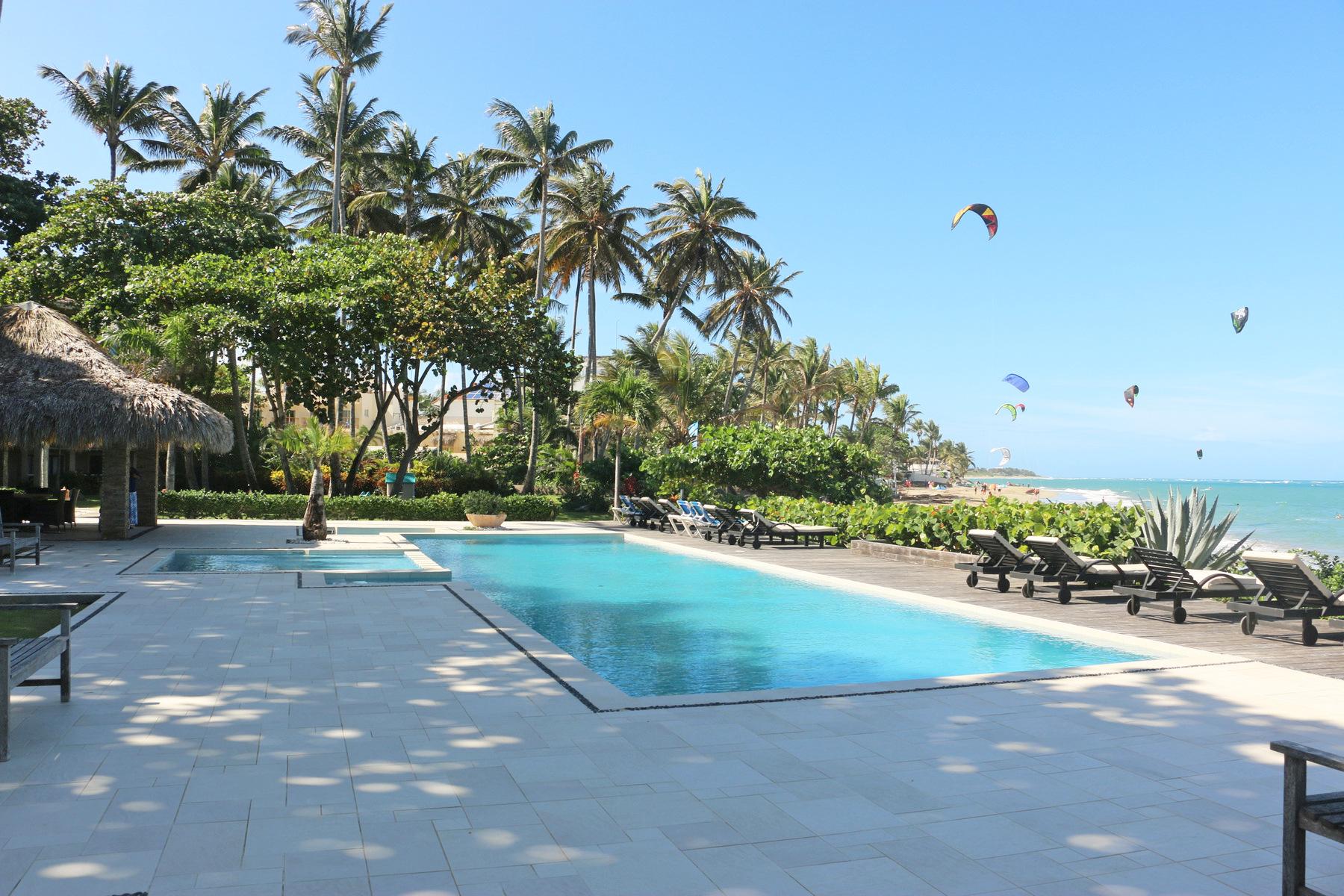 Condominio por un Venta en Ocean Point Condo Ocean Point 410, Cabarete, Puerto Plata, 57000 República Dominicana