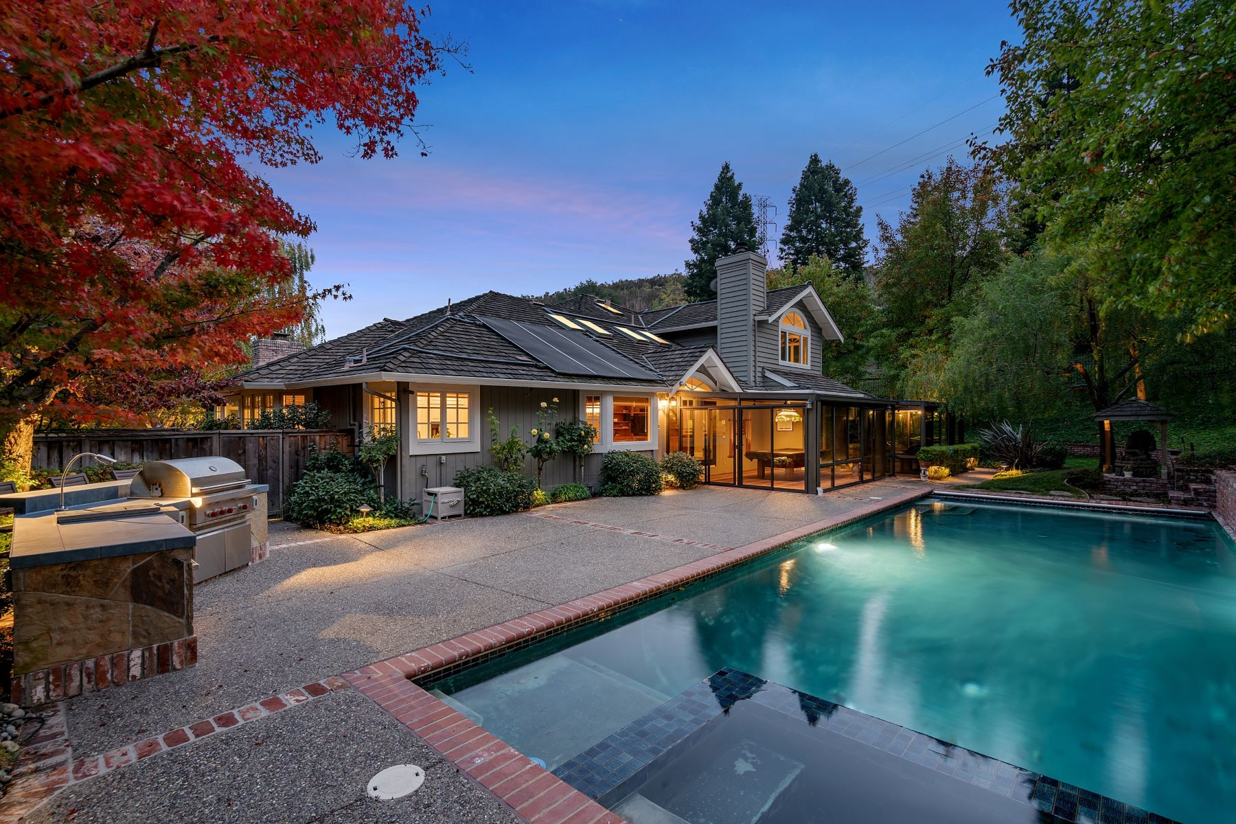 Single Family Homes for Sale at Spectacular Estate In Gated Community 6 Hastings Court Moraga, California 94556 United States