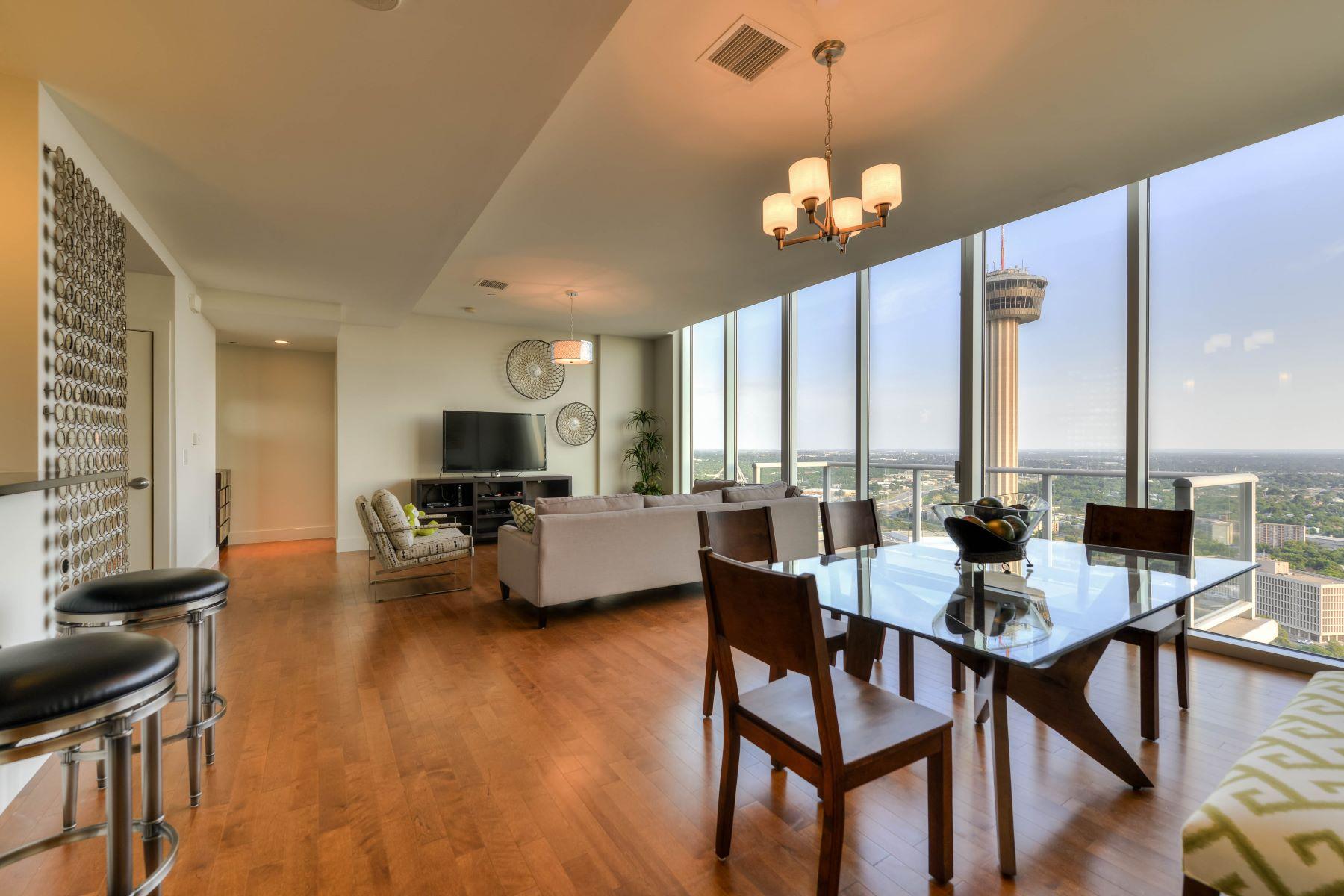 Condominium for Rent at 610 E. Market Street #3105 610 E. Market Street #3105 San Antonio, Texas 78205 United States