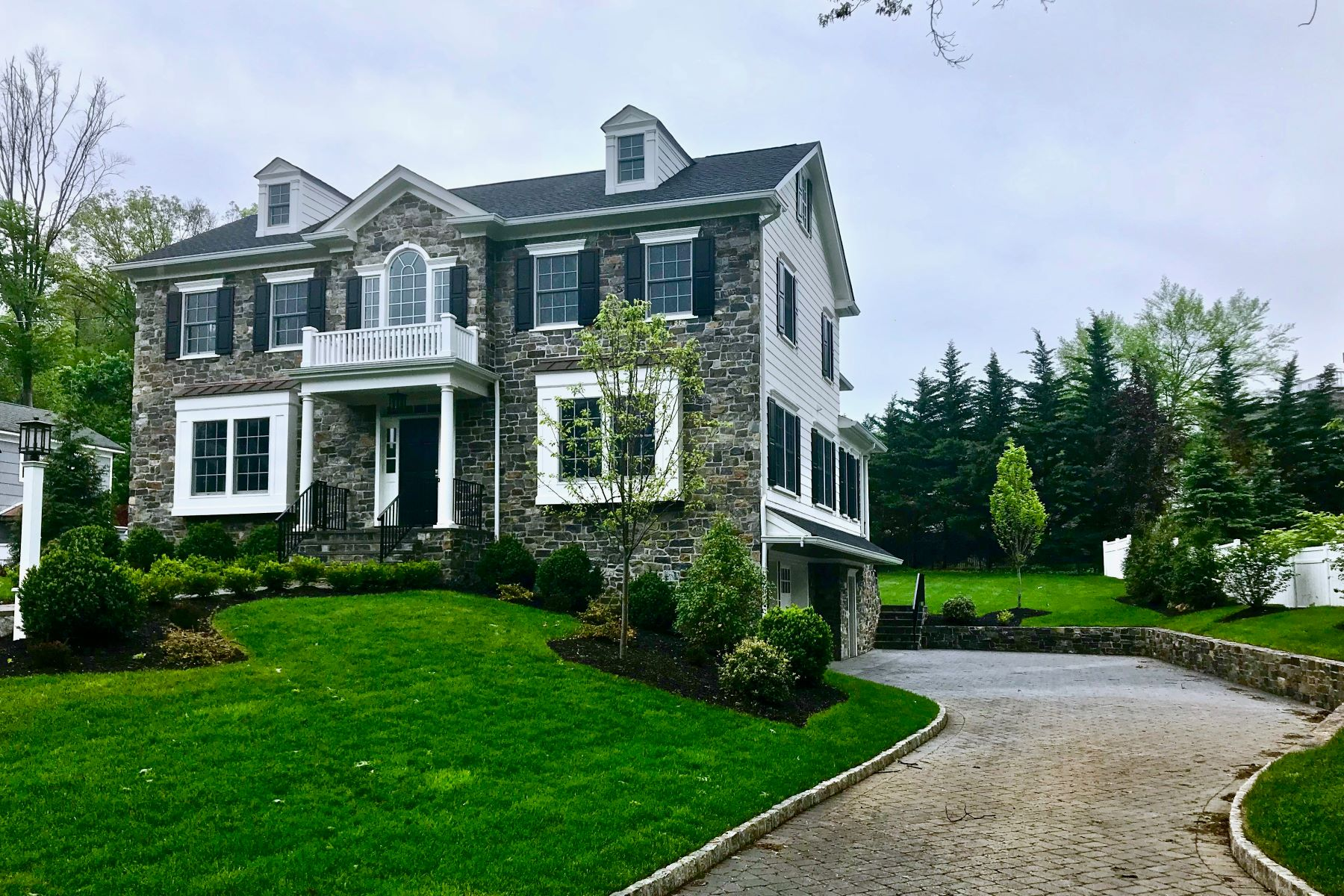 Single Family Home for Sale at Spectacular New Colonial 1 Beverly Road, Madison, New Jersey 07940 United States